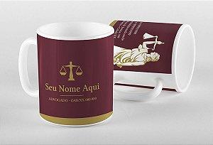 Caneca Advogado M0010