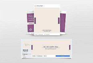 Kit Redes Sociais Medico M0002