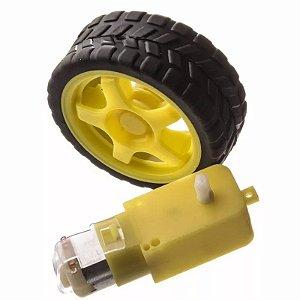 Roda+ Pneu+ Motor