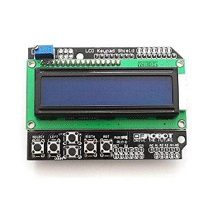 Arduino Shield - LCD 16x2 com Teclado
