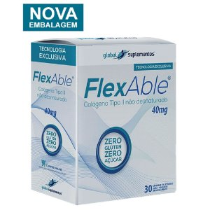 FlexAble ( Colágeno tipo II 40 mg c/ 30 Cápsulas )