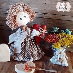 Boneca Decorativa - Doce Lar