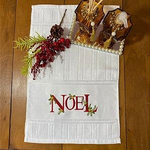 de Lavabo  – Noel Vermelho, 30cm x 45cm.
