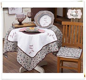 Toalha de Mesa Pra 6 Cadeiras – Libelula, 2,00m x 1,40cm.