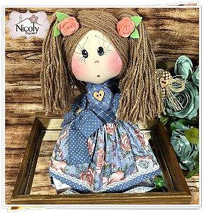 Boneca Decorativa - Florata.