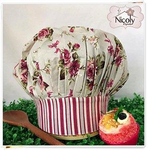 Chapéu Gourmet Infantil - 011, 100% algodão.