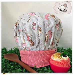 Chapéu Gourmet Infantil - 012, 100% algodão.