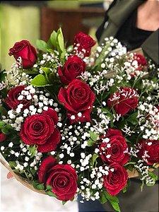 Buquê de Rosas Tradicional