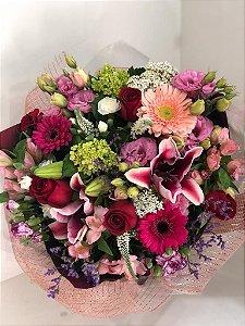 Buquê Mix Flores Luxo