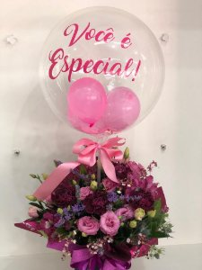 Balloons Flowers
