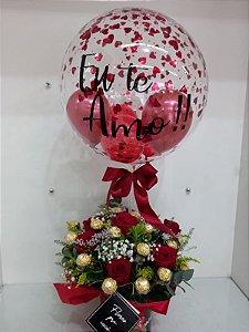 Balloons Flowers Ferrero Rocher