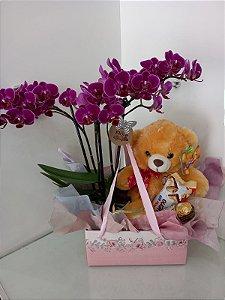 Caixa Mimo Orquídea