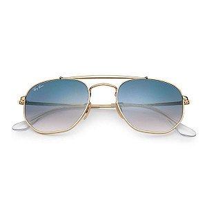 Óculos de Sol Ray-Ban RB3648 Marshal azul degradê