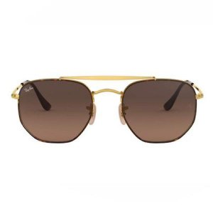 Óculos de Sol Ray-Ban RB3648 Marshal marrom degradê