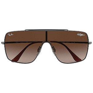 Óculos de Sol Ray-Ban RB3697 Wings II marrom