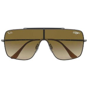 Óculos de Sol Ray-Ban RB3697 Wings II marrom degradê