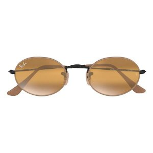 Óculos de Sol Ray-Ban RB3547 Oval marrom