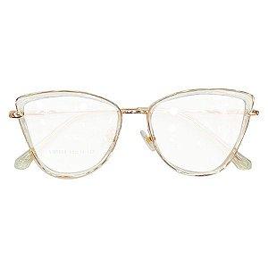 Armação óculos Dior 5508 - crisltal/rosê