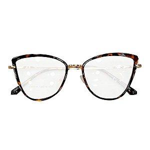 Armação óculos Dior 5508 - tartaruga marrom