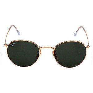 Óculos de Sol Ray-Ban RB3447 Round preto / dourado