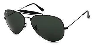 Óculos de Grau Ray-Ban RB3029 Caçador Preto Brilhante