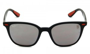 Óculos de Sol Ray-Ban RB4297 Scuderia Ferrari prata espelhado