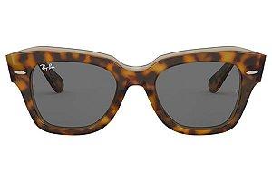 Óculos de Sol Ray-Ban RB2186 Statestreet tartaruga/preto