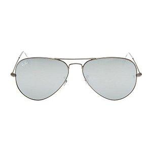 Óculos de Sol Ray-Ban RB3025 Aviador prata espelhado