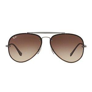Óculos de Sol Ray-Ban RB3584 Blaze Aviador marrom