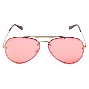 Óculos de Sol Ray-Ban RB3584 Blaze Aviador rosa