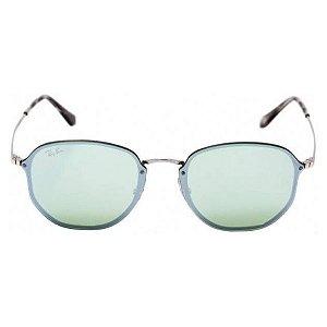 Óculos de Sol Ray-Ban RB3579 Blaze Hexagonal verde