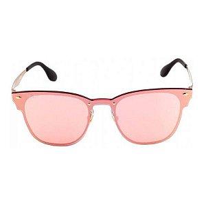 Óculos de Sol Ray-Ban RB3576 Blaze Clubmaster rosa