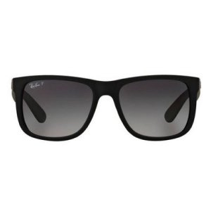 Óculos de Sol Ray-Ban RB4165 Justin preto polarizado