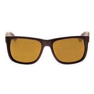 Óculos de Sol Ray-Ban RB4165 Justin marrom polarizado