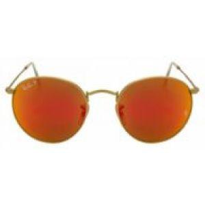 Óculos de Sol Ray-Ban RB3447 Round vermelho espelhado