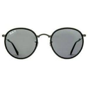 Óculos de Sol Ray-Ban RB3517 Round dobrável preto