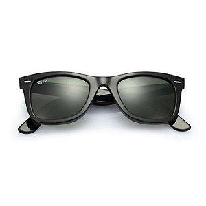 Óculos de Sol Ray-Ban RB2140 Wayfarer preto brilhante