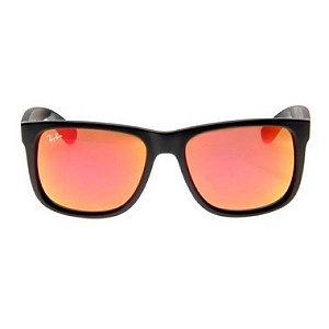 Óculos de Sol Ray-Ban RB4165 Justin vermelho espelhado polarizado
