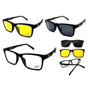 Armação óculos Ray-Ban RB2088 2 clip on