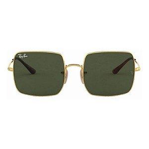 Óculos de Sol Ray-Ban RB1971 Square verde / dourado