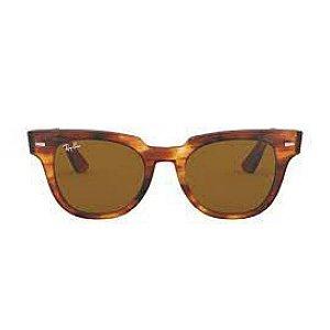 Óculos de Sol Ray-Ban Rb2168 Meteor Evolue marrom tartaruga