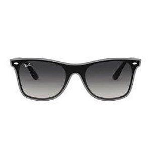 Óculos de Sol Ray-Ban RB4440 Blaze Wayfarer - cinza transparente