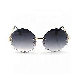 Óculos de Sol Chloé Flower - Chumbo