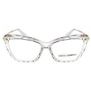 Óculos de grau Dolce & Gabbana 5025 504 - cristal/dourado