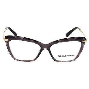 Óculos de grau Dolce & Gabbana 5025 504 - preto/dourado