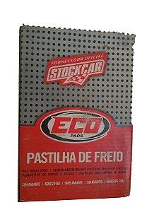 PASTILHA DE FREIO DIANTEIRA ECOPADS MERCEDES CLASSE A