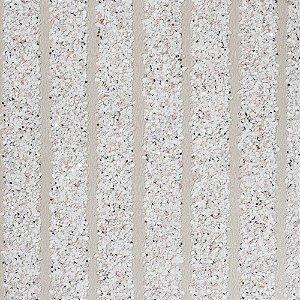 Papel de Parede Mica Cor Areia Com Listras Rolo de 0,915cm x 5,5m