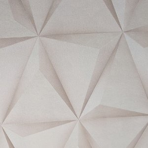Papel De Parede Vinílico Importado Lavável Geométrico 3D