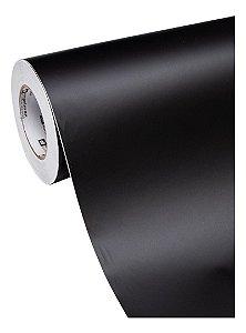 Adesivo Para Envelopar Móveis Preto Fosco (Vendido Por Metro) 100cm Largura x 100cm Comprimento (Cobre 1m² de Área)