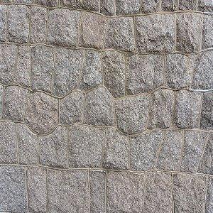 Adesivo de Parede Personalizado Pedra Rústica em Tons de Cinza Para Área Gourmet, Churrasqueira